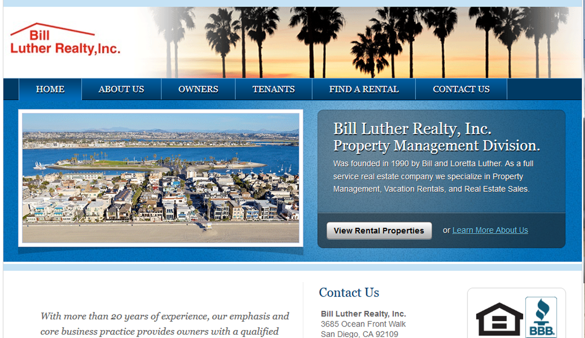 Property Management - Bill Luther Realty